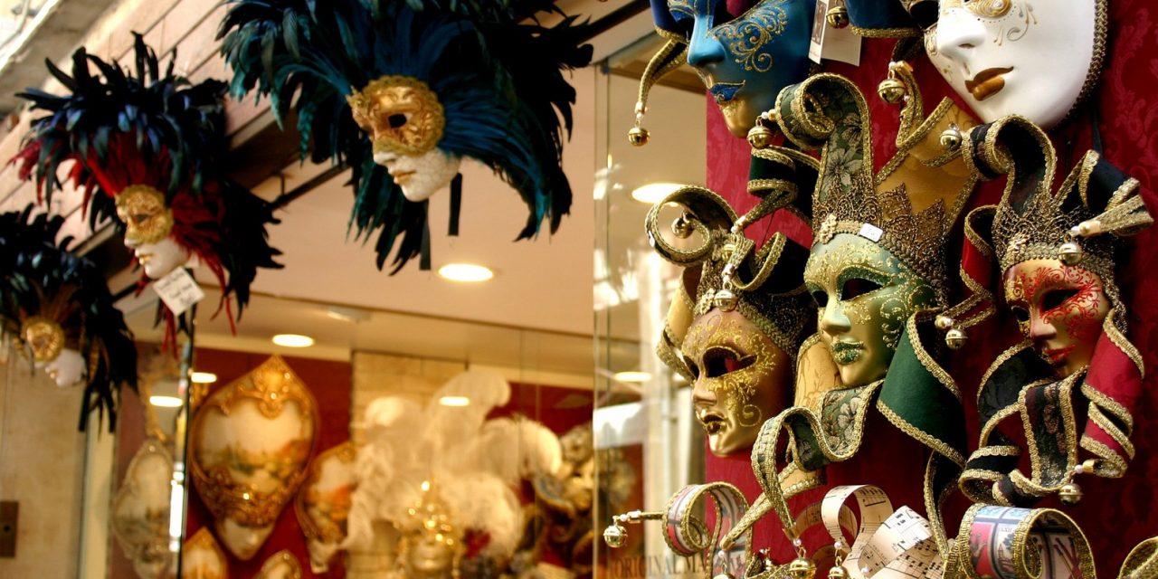 How typical Venetian masks come into the world