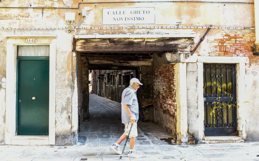 Calli and campielli of Venice