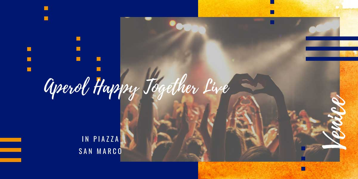 Aperol turns 100: here's what you need to know about Aperol Happy Together Live in Piazza San Marco
