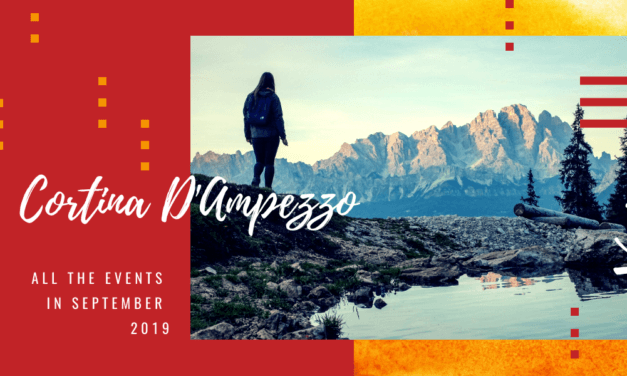 Cortina, all the events not to be missed in September 2019