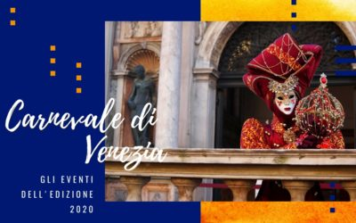 Carnevale di Venezia: ecco gli eventi dell'edizione 2020