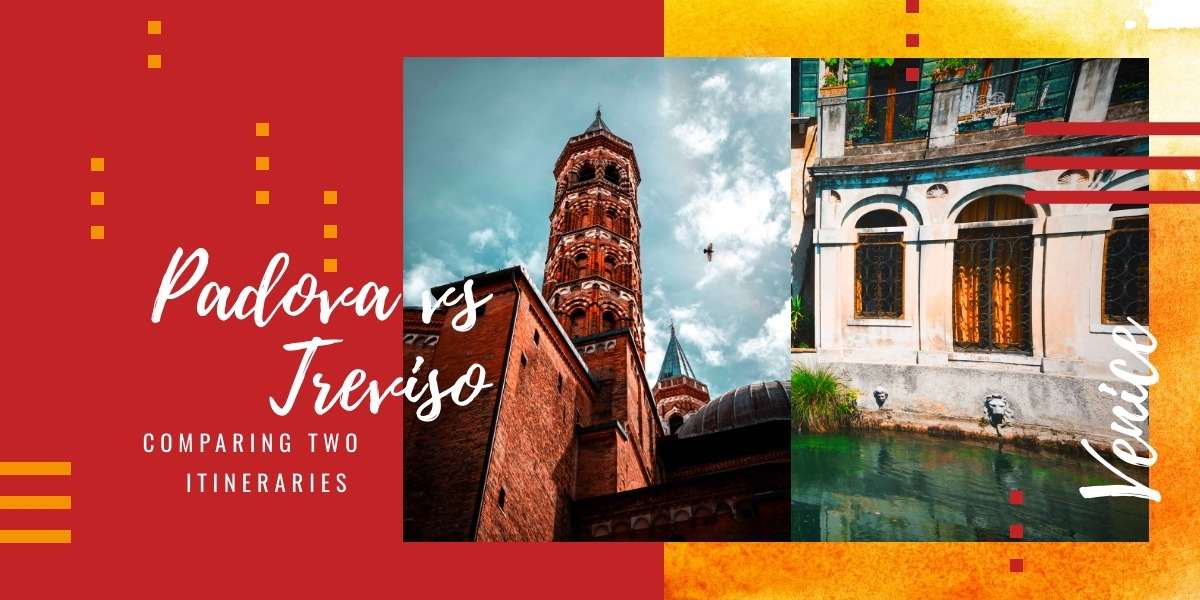 Padova vs Treviso: two itineraries in some of the most beautiful historical cities of Veneto