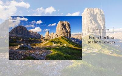 The Cinque Torri, symbol of the Ampezzo Dolomites
