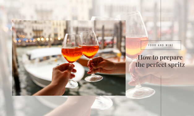 The recipe for the perfect Spritz